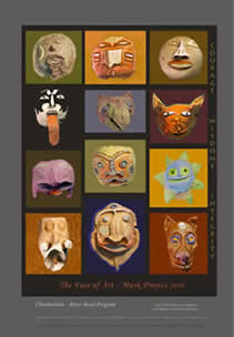 poster of totem clay mask project